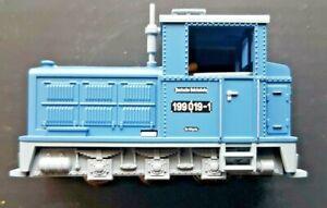 Fleischmann 33204, HOe scale, Diesel Locomotive class 199 DR Blue