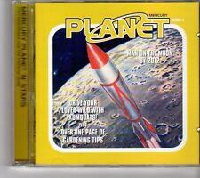 (FM144) Mercury Planet N Stars, 19 tracks various artists - 1999 DJ CD