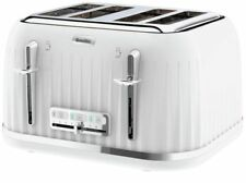 Breville VTT470 Impressions 2100-Watt 4 Slice Toaster - White