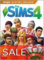 WINTER SALE The Sims 4 Deluxe Edition + BONUS GAME(PC/Mac) Fast Delivery Gift