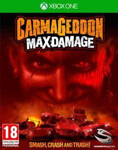 Carmageddon: Max Damage [Microsoft Xbox One Violent Car Racing Career Mode] NEW