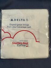 Delta Airlines package of napkins