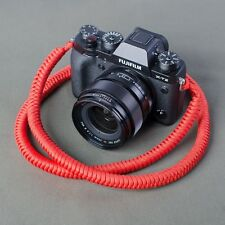 A-MoDe Paracord camera Straps High Strength Nylon Rope Camera neck Strap Red