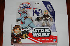 Han Solo Hoth & Tauntaun-Star Wars Galactic Heroes MIP Empire Strikes Back
