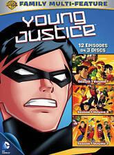 Young Justice: Season 1 Vol.1-Vol.3, New DVDs