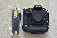 Nikon D D800E 36.3MP Digital SLR Camera - Black (Body Only) Shutter 42k only
