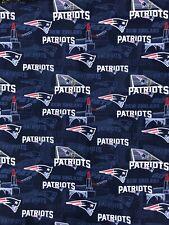 Flash Sale New England Patriots 100% Cotton Fabric FQ 18