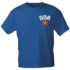 Fun Shirt S M L Xxl super Motiv Shirts T-Shirt DDR 09769 royal