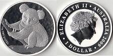AUSTRALIA Dollaro d'argento 1 OZ Australia Koala Silver dollar 2009 Bullion