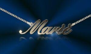 Namenskette mit Wunschname, Silber 925, Halskette, Necklace, Initiale, Schmuck
