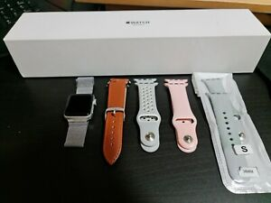 Apple Watch Series 3 38mm + 5 correas