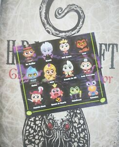 Disney Doorables Season / Series 6 Special Edition VILLAINS and VAULTED 2021