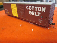 HO Scale Cotton Belt (SSW) 50' Double Door Box Car #49134 w/Track Cleaner attach