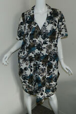 New Women Marni Floral Short Sleeve Multi-Color Wing Dress Italy $1030 Size 6 40