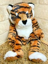 RARE Tickles the Bengal Tiger Cat Russ Berrie Weighted Stuffed Plush