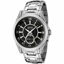 Stainless Steel Case Quartz (Battery) Seiko Premier Watches