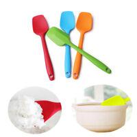 Silicone Spatula Heat Resistant Non-Stick Rubber Scraper Spoon Baking 1Pc/Set