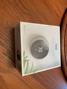 Nest 3rd Generation Learning Thermostat Stainless Steel