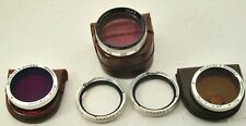 Lot of Rollei Bay I Filters - Rolleinar I, Yellow Gelb, Red Hellrot