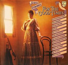 ETHNA CAMPBELL for the good times 6382 138 uk philips 1977 LP PS EX/EX-