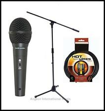 Audio-Technica M4000S Vocal Microphone  + Pro Boom Stand XLR mic cable + clip