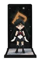 TAMASHII BUDDIES Sailor Moon SAILOR PLUTO PVC Figure BANDAI NEW from Japan F/S
