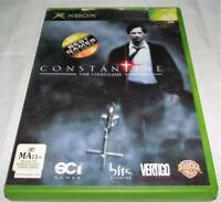 Constantine XBOX Original PAL *Complete*