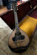 More details for early 20th century il globo flat-back mandolin