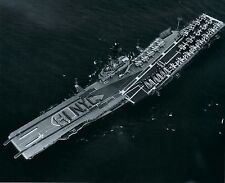 USS INTREPID 8X10 PHOTO NAVY US USA MILITARY CV-11 SHIP AIRCRAFT CARRIER HI NYC