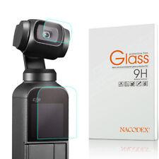Nacodex For DJI Osmo Pocket Camera (Lens + Screen) Tempered Glass Screen Protect