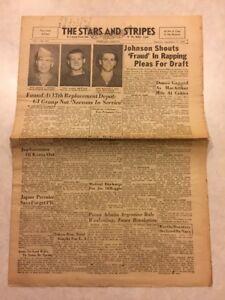 Stars and Stripes Newspaper Sep 15 1945 Domei Gagged As MacArthur Hits Critics