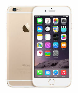 NEW Apple iPhone 6 - 128GB - Gold (Factory Unlocked) Smartphone MG4E2LL/A