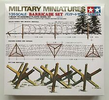 Tamiya 35027 barricada Set 1/35 Modelo Kit Nuevo En Caja