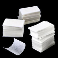 1000Pc Lint Free Nail Art Manicure Polish Remover Cleaner Wipe Cotton Pads Paper