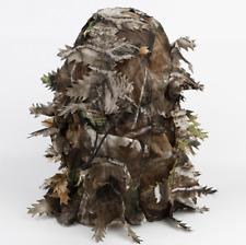 Hunting Face Mask 3D Leaf Stereo Ghillie Camouflage Leaf Mask Hat Camo Face Mask