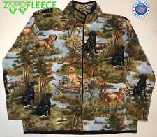 ZooFleece Puppies Dog Black Lab Labrador Jacket Coat Sweater Women's Gift L-3X