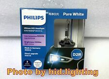 Genuine Philips 6000K Ultinon Flash White D2R XenStart HID XENON Bulb lamp 35W