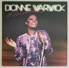 DIONNE WARWICK HOT! LIVE AND OTHERWISE 33 1/3 RPM ARISTA RECORDS 1981