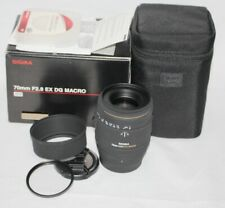 (Post on 24/02)SIGMA AF 70mm f/2.8 DG Macro (1:1) Lens SONY A Digital fit