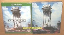 Star Wars Battlefront + Steelbook & DLCAmazon Exclusive New Sealed Xbox One