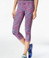 New IDEOLOGY Women's Printed Capri Cropped Leggings Holiday Yoga Active Workout