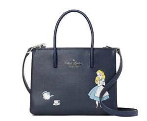 Disney x Kate Spade Alice in Wonderland Shopper Crossbody Bag Mini Tote $329