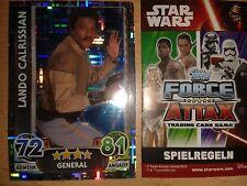 Force Attax Star Wars Serie Movie 4 Holo-Card Nr. 199 Lando Calriss. Sammelkarte