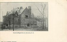 Vintage Postcard; Norwich High School, Norwich, NY, Chenango County, WF Eldredge