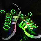Green LED Lighted Shoe Laces + Extra Batteries- Sells and ships from USA!