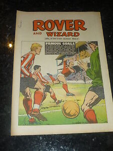 THE ROVER & WIZARD - Date 19/04/1969 - UK Comic