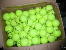 100 used INDOOR HARD COURT  tennis balls --  High Quality