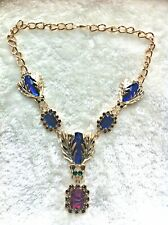 Fashion Insect Gold-plated Chunky Chain Statement Necklace Gold Plate/Tone
