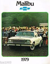 1979 Chevrolet MALIBU Dealer Brochure / Pamphlet / Flyer / Catalog