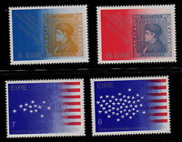 IRELAND  SCOTT# 389-392 MNH  FLAG, AMERICAN BICENTENNIAL, STAMP ON STAMP TOPICAL